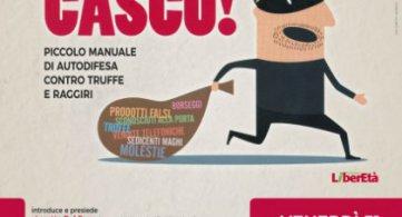 """Presentazione del manuale contro le truffe """"Non ci casco"""""""