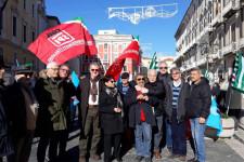 Presidi unitari di protesta contro blocco rivalutazione pensioni