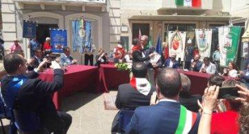 Associazione Brigata Maiella e ANPI cittadini onorari del Comune di Guardiagrele