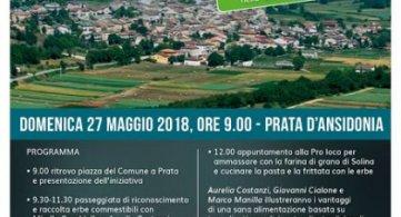 Prata d'Ansidonia (AQ) 27 maggio 2018 Natura Alimentazione Benessere