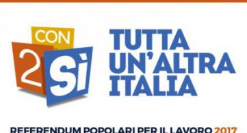Referendum sul lavoro: con due SI tutta un'altra Italia
