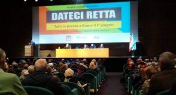 Pensioni: verso il primo giugno assemblee a Padova, Roma e Napoli