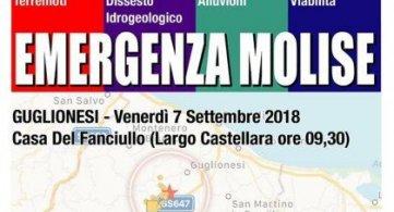 Guglionesi (CB) 7 settembre 2018 Emergenza Molise