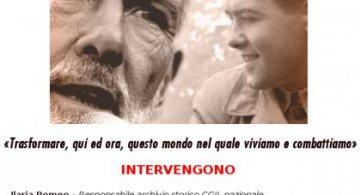 """Sulmona 15 dicembre 2017: mostra fotografica """"Bruno Trentin dieci anni dopo"""""""