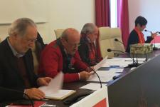 28 dicembre 2018 L'Aquila l'Assemblea generale elegge la Segreteria provinciale