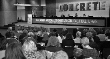 Immagini e contenuti dall'Assemblea nazionale Donne SPI CGIL