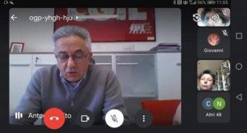 Ivan Pedretti conclude l'Assemblea generale Spi Cgil Abruzzo Molise