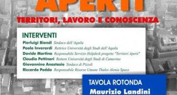 Landini il 5 aprile in Abruzzo nei comuni del cratere sismico