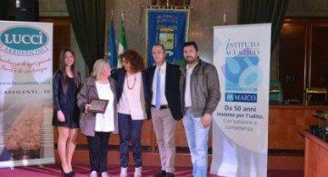 Pescara 1 maggio 2017 Franca Canale lavoratrice ideale 2017