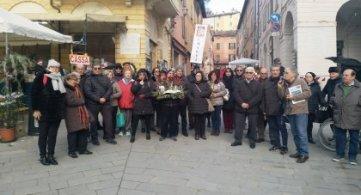Brisighella: omaggio ai caduti della Brigata Maiella
